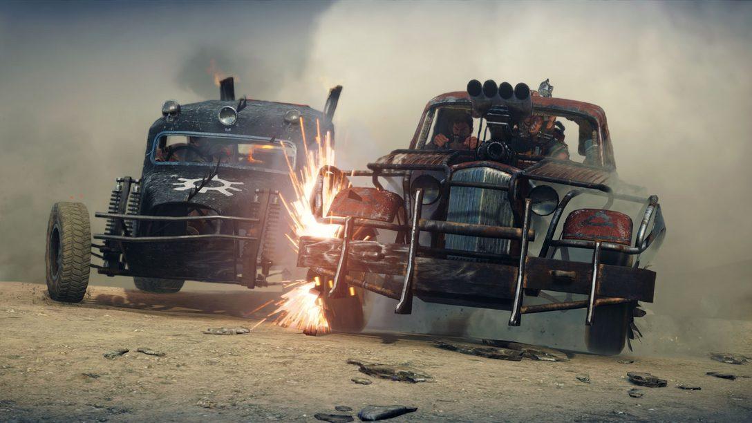 PlayStation Underground: Mad Max