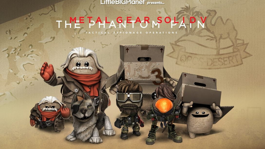 LittleBigPlanet 3: Metal Gear Solid V DLC Out Today