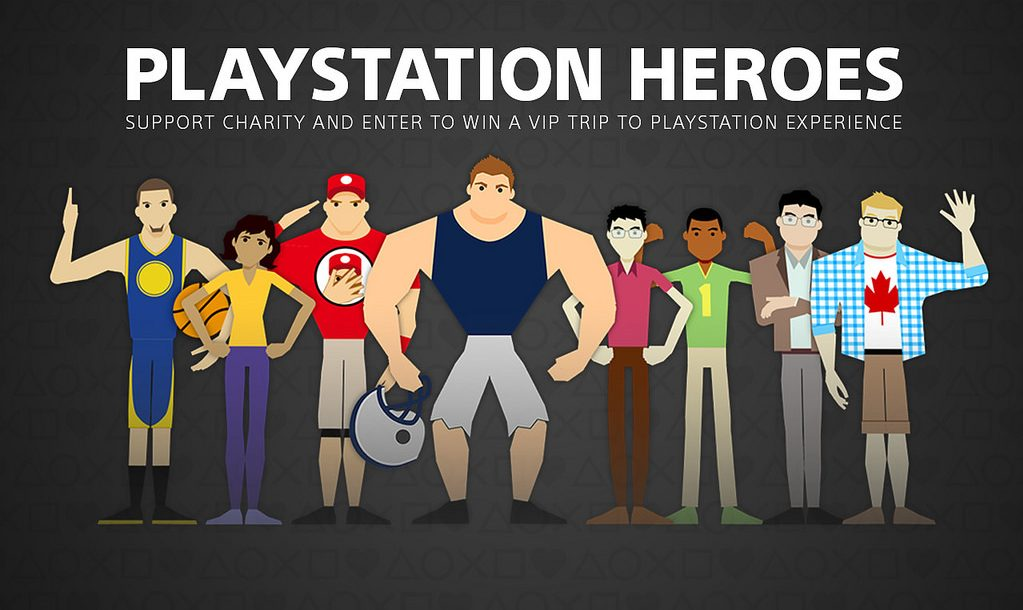 Win a Trip to PlayStation Experience with PS Heroes