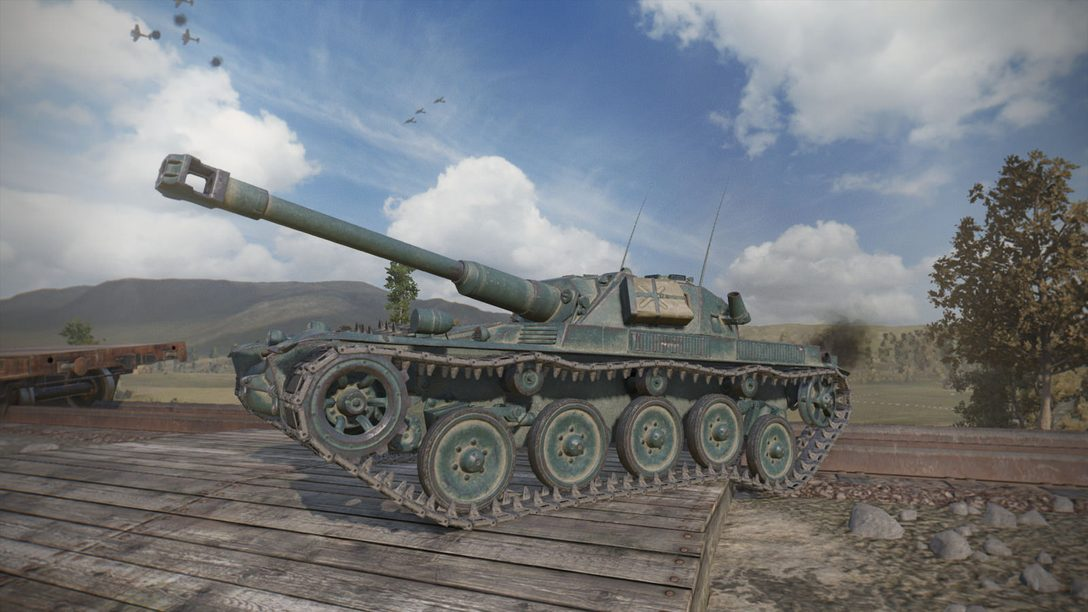 30-Player, Free-to-Play World of Tanks Coming to PS4