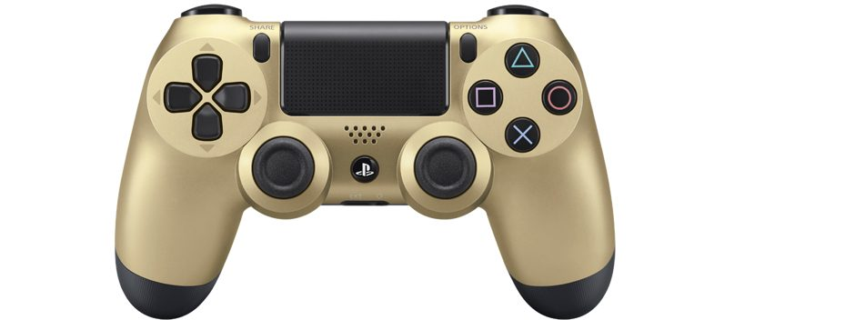 Gold and Silver Dualshock 4 Wireless Controllers unveiled