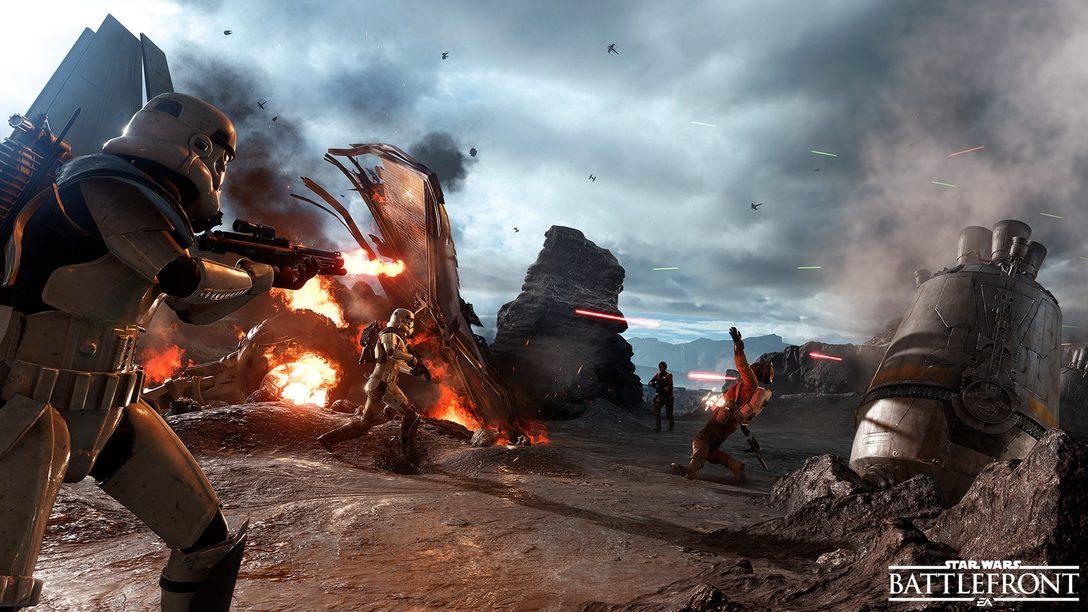 Star Wars Battlefront Beta Begins October 8th on PS4