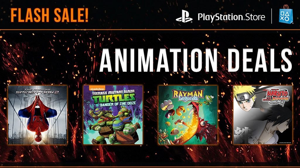 Animation Flash Sale Live Now on PlayStation Store