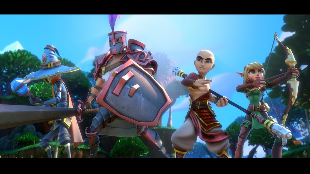 Dungeon Defenders II Coming to PS4 September 29th