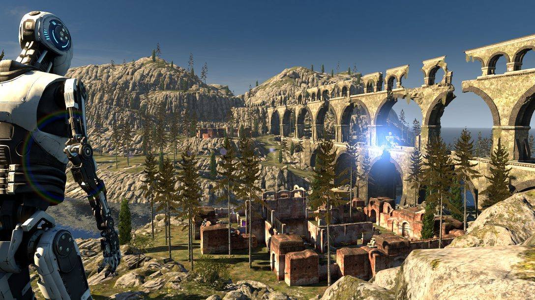 The Talos Principle on PS4: Designing AI to Test a Game About AI