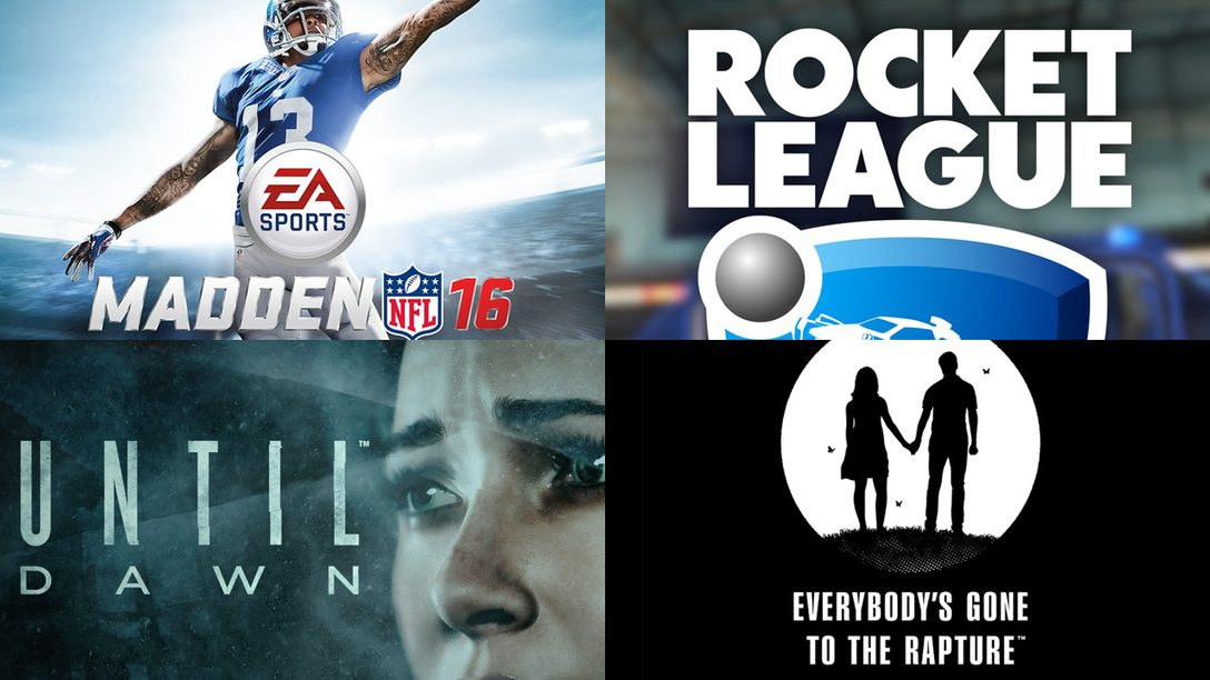 PlayStation Store: August 2015's Top Downloads