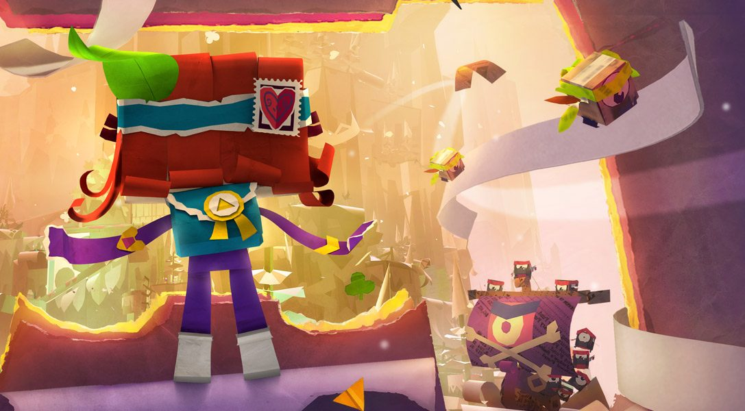 How atoi was brought to life in the new Tearaway Unfolded TV advert