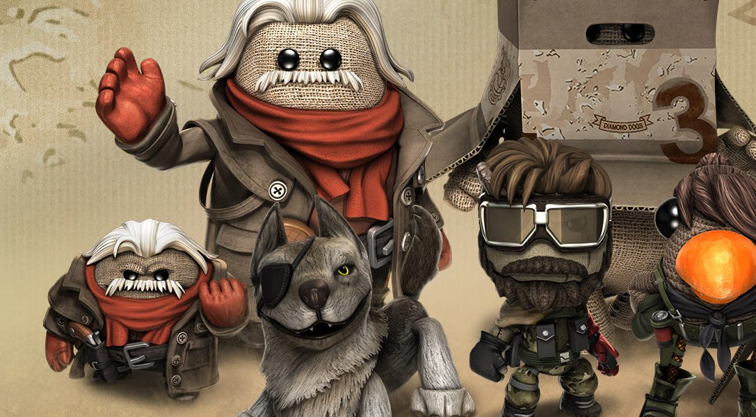 LittleBigPlanet 3 gets Metal Gear Solid V: The Phantom Pain DLC pack this week