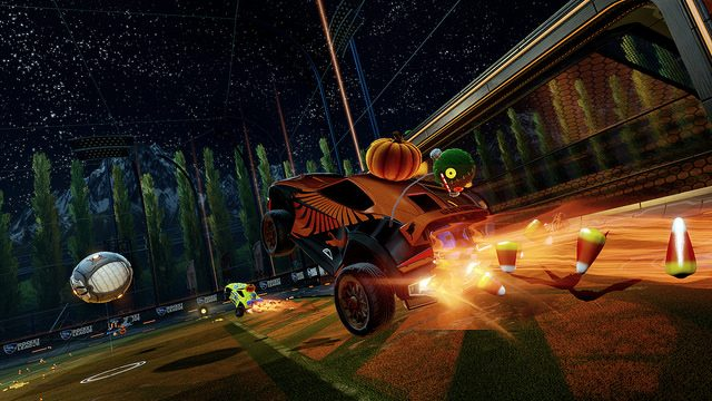 Free Halloween Items Coming to Rocket League
