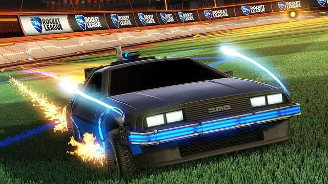 Rocket League Goes Back to the Future!