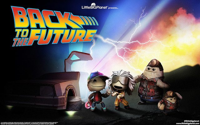 LittleBigPlanet 3: Back to the Future Arrives Today!