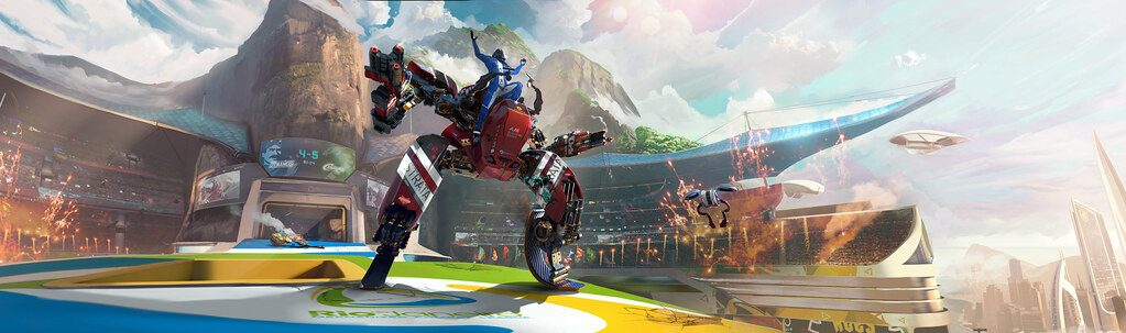 New RIGS Mechanized Combat League trailer shows off Dubai arena