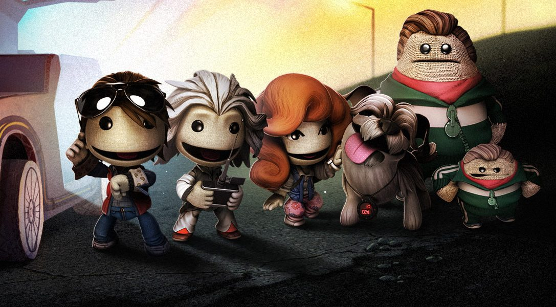 LittleBigPlanet 3 gets Back To The Future DLC today