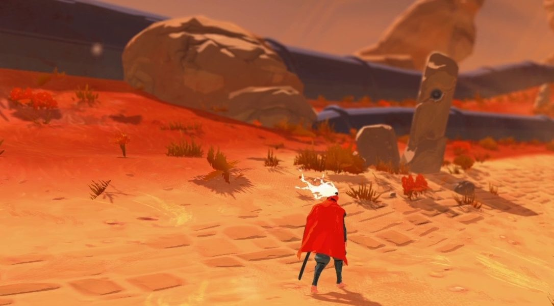 Furi, a beat 'em up with a difference, announced for PS4