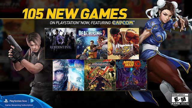 105 New Games Join PlayStation Now Subscription Service Today