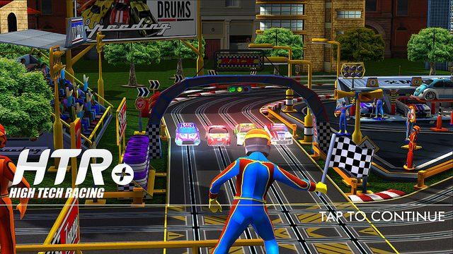 HTR+ Slot Car Simulator Crosses The Finish Line Today on PS Vita