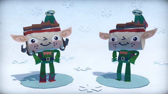 Tearaway Unfolded: Holiday DLC Packs Out Today on PS Store
