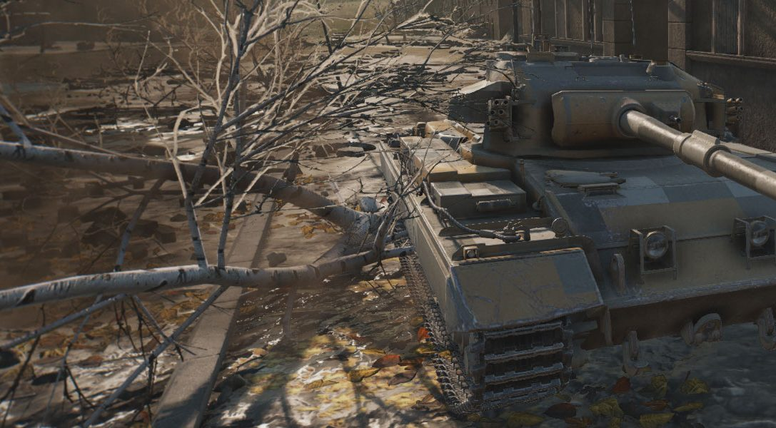 World of Tanks open beta hits PS4 next month