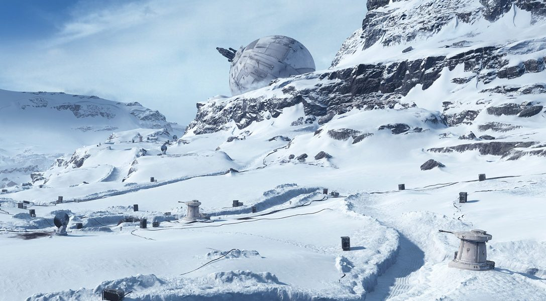 Creating Star Wars Battlefront's iconic Hoth maps