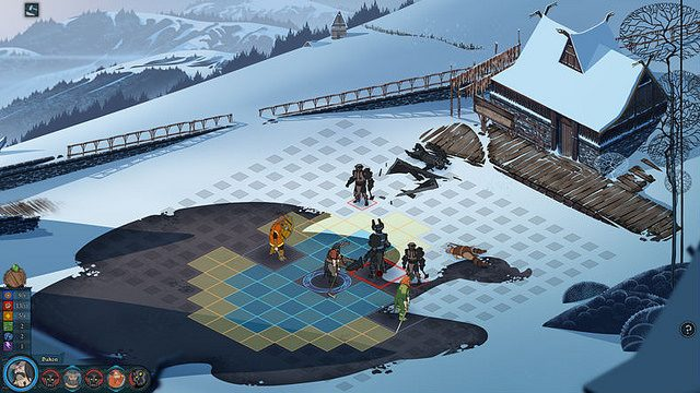The Banner Saga Arrives on PS4 January 12th, 2016