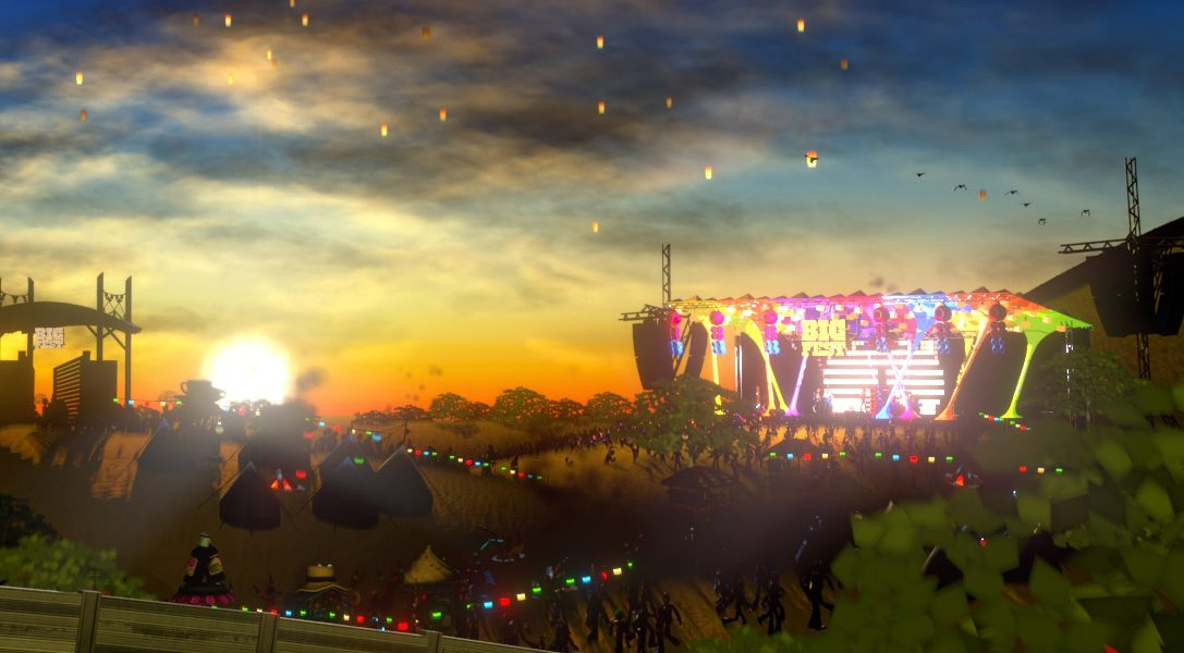 Music festival sim BigFest is out tomorrow, exclusively on PS Vita