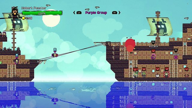 Open-world Pirate Sim Pixel Piracy Coming to PS4