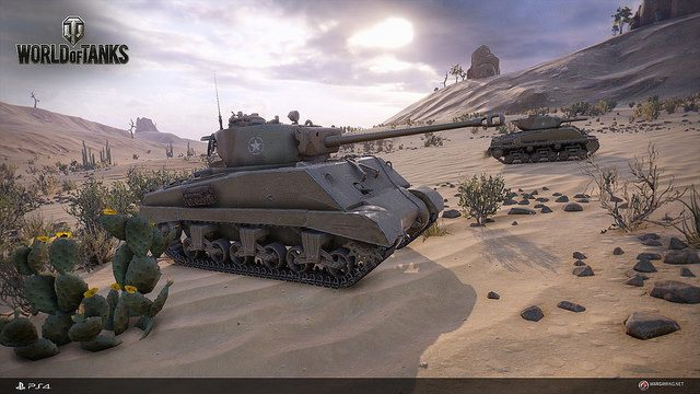 World of Tanks Launches Today on PS4