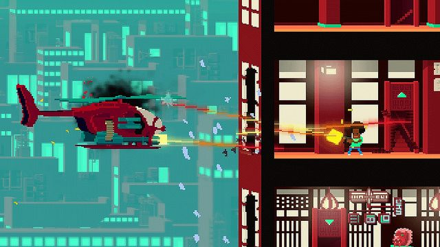Not A Hero Launches February 2nd on PS4