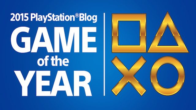 Winners: PlayStation.Blog 2015 Game of the Year Awards