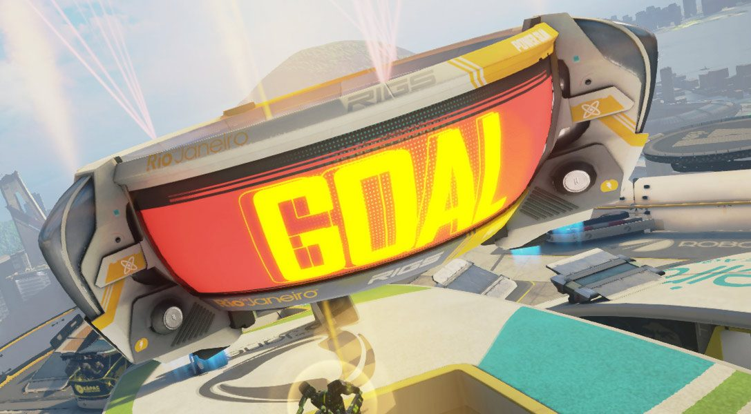 Greg Miller shoutcasts PlayStation VR shooter RIGS Mechanized Combat League in new video