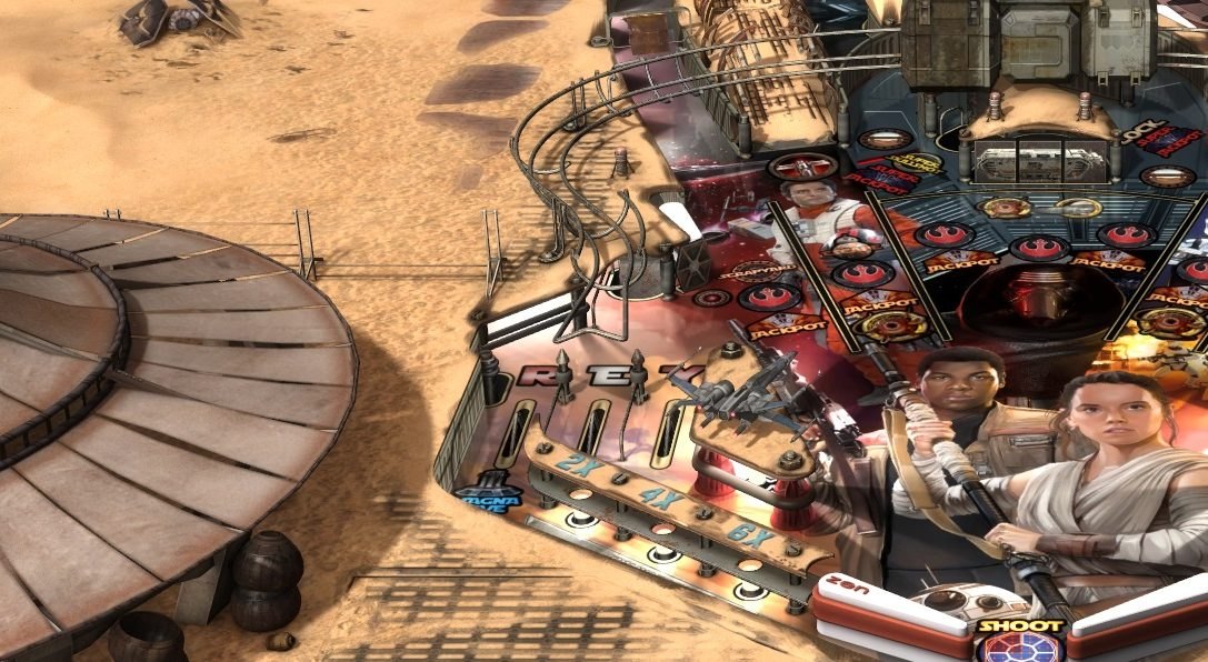 7 things you don't want to miss in Zen's Star Wars Pinball: The Force Awakens Pack
