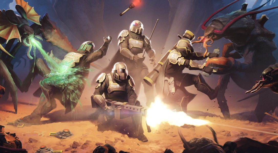 PlayStation Plus in February: Helldivers, Nom Nom Galaxy, more