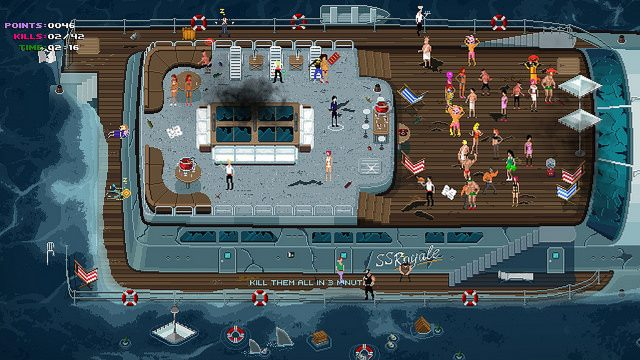 Party Hard Launching on PS4 This Spring