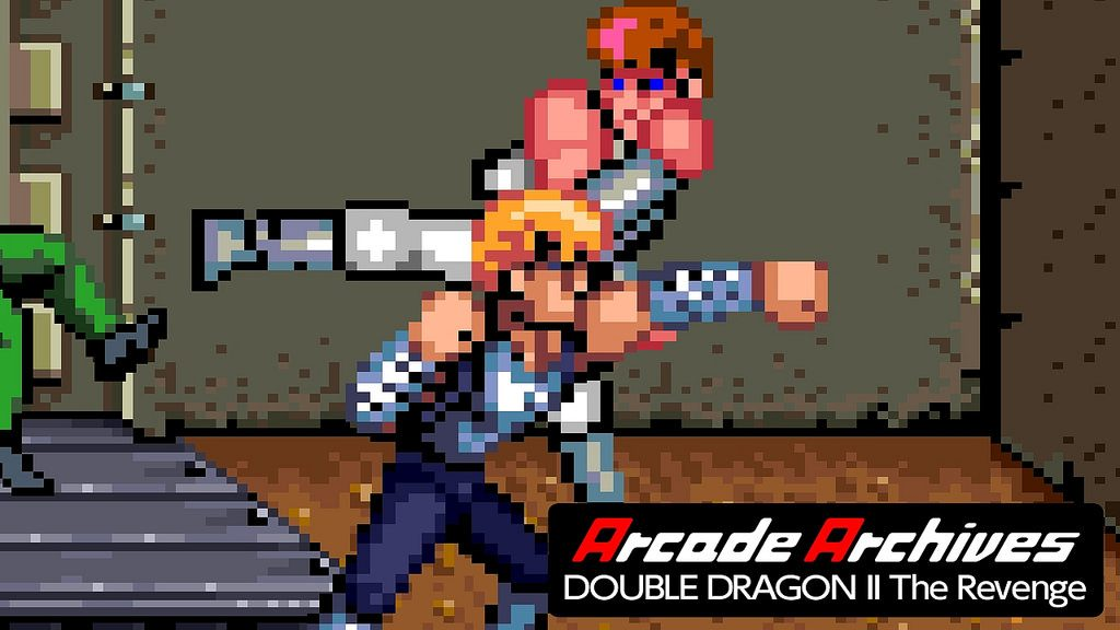 Double Dragon Ii The Revenge Launches Today On Ps4 Playstation Blog