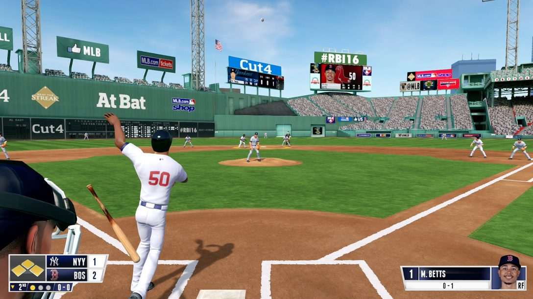R.B.I. Baseball 16 Heading to PS4 on March 29th