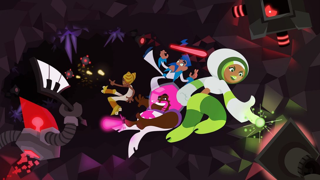 Laser Disco Defenders Grooves Onto PS Vita This Year