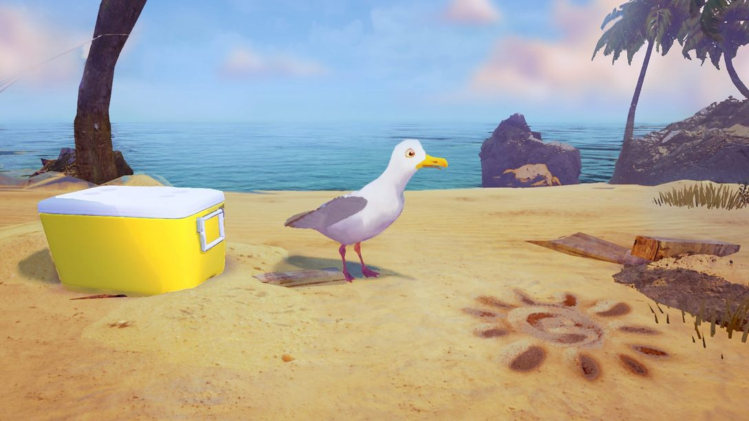 Introducing Gary the Gull on PlayStation VR