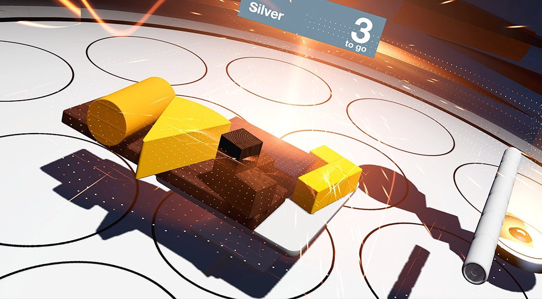 Physics puzzler Tumble VR unveiled for PlayStation VR, from Supermassive Games