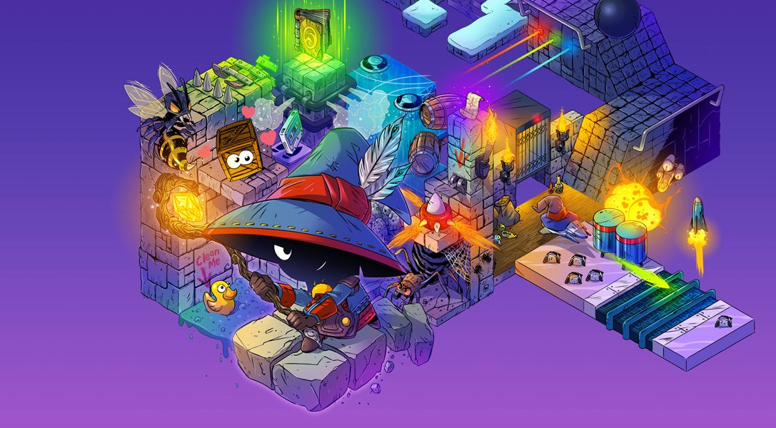 Isometric arcade adventure Lumo arrives on PS4 & PS Vita next month