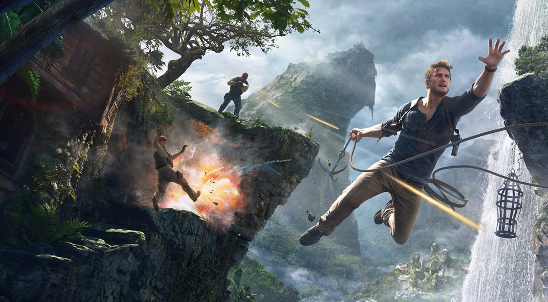 The Making of Uncharted 4: A Thief's End video series kicks off today