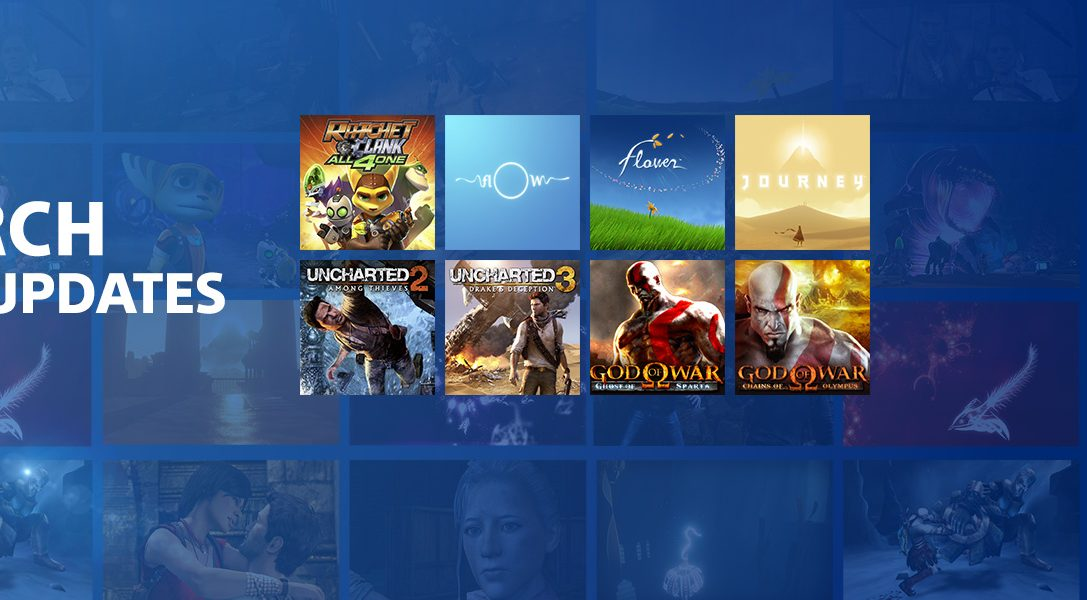 22 new titles join PlayStation Now today, including Uncharted 2 and 3
