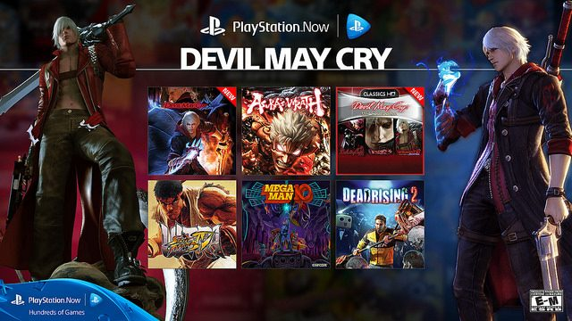 Stream the Iconic Devil May Cry Series with PS Now Subscription