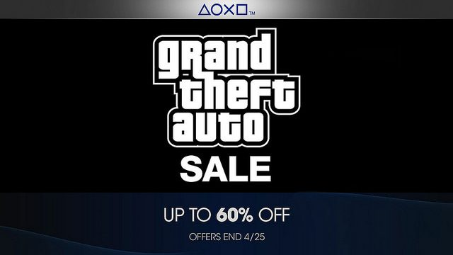 PlayStation Store Offers Sale on Grand Theft Auto Series