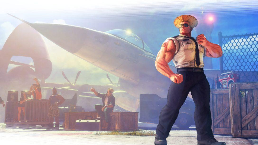 Guile Joins Street Fighter V Roster This Month, April Update Details