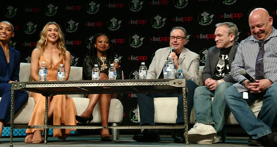 POWERS Cast Talks Season 2 at Emerald City Comicon