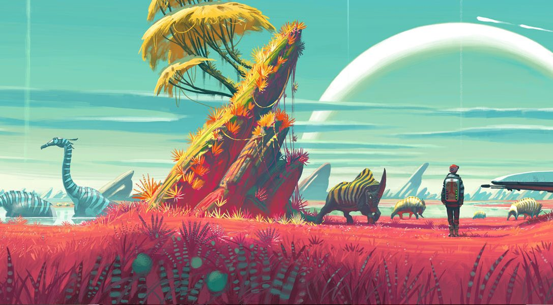 How Hello Games' artists conceived No Man's Sky infinite universe