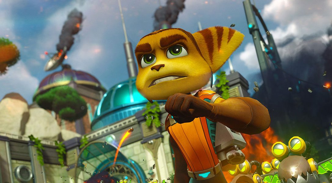 Ratchet & Clank is back with a bang today on PS4