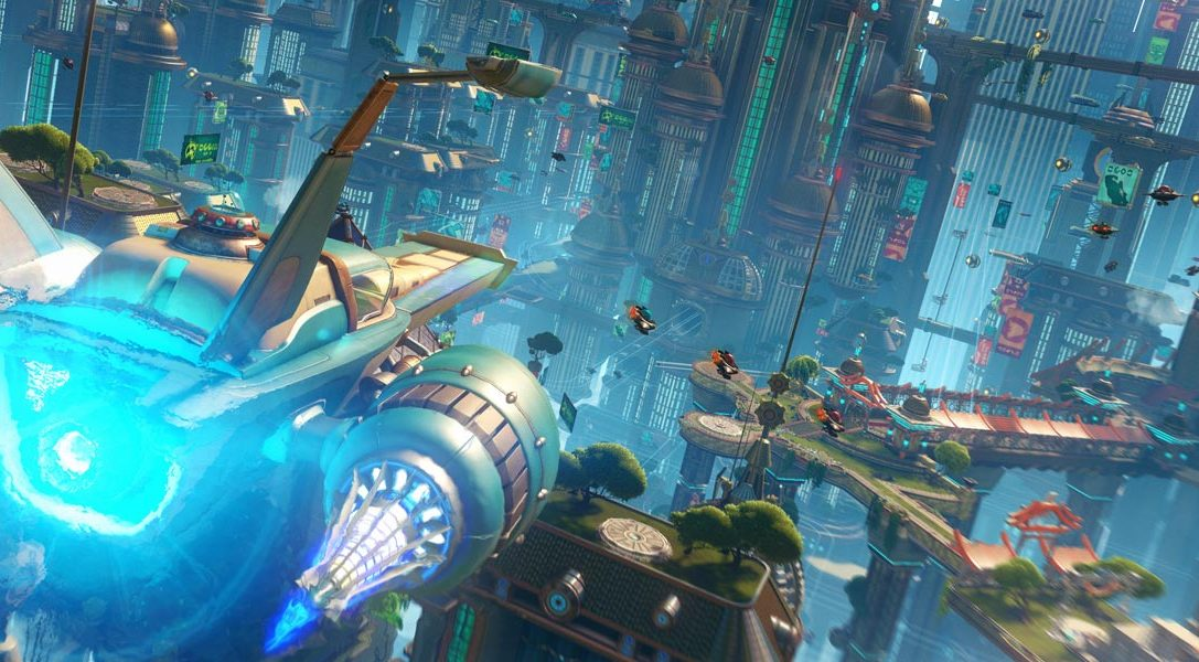 New on PlayStation Store: Ratchet & Clank, Invisible Inc., Axiom Verge