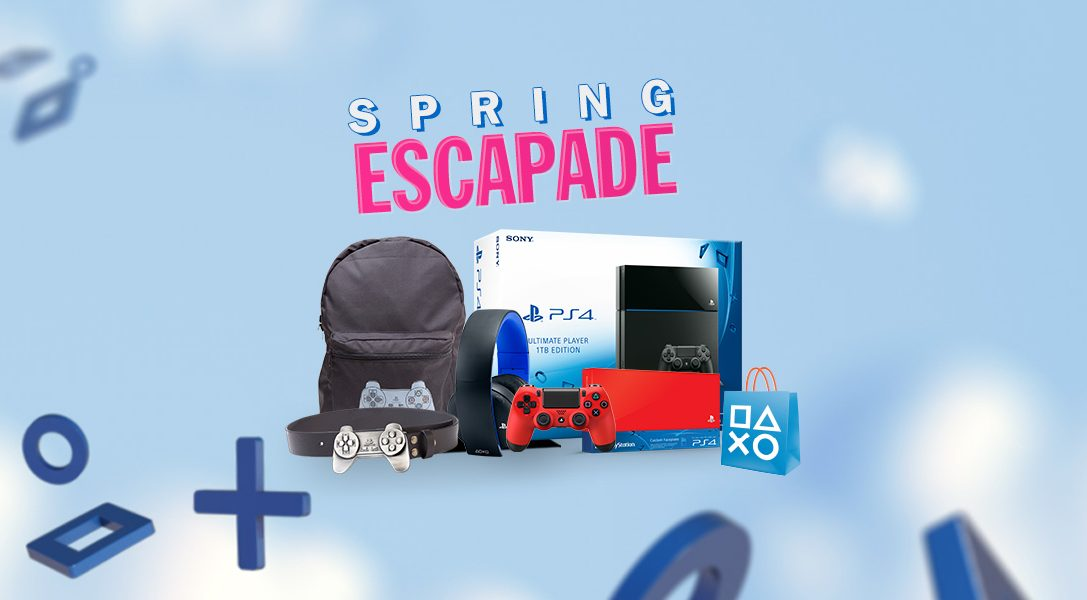 Win big in our Spring Escapade competition, starting today