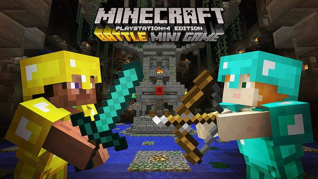 Minecraft: Battle Minigame Coming to PlayStation in June